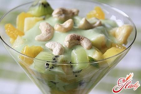заправка для фруктового салата