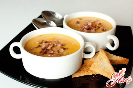 суп пюре гороховый с копченостями рецепт с фото пошагово