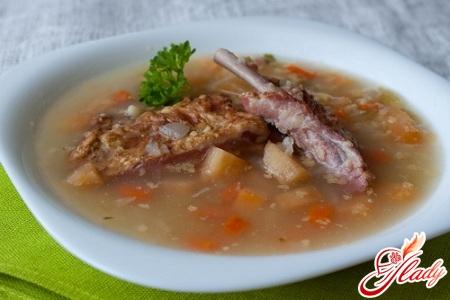 Вкусный суп из свинины рецепт с фото пошагово