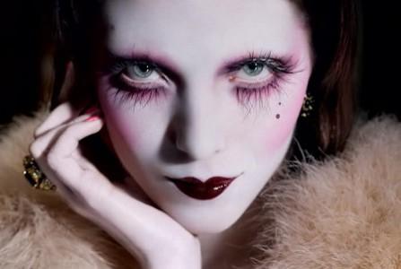 Готический макияж поэтапно