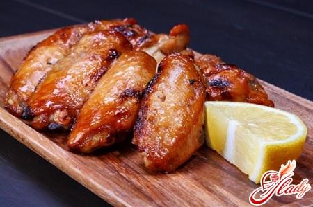 курица в медово соевом соусе