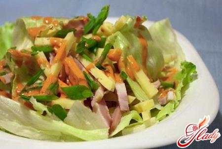 салат пражский рецепт