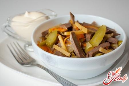 пражский салат рецепт