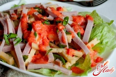 рецепт салат пражский