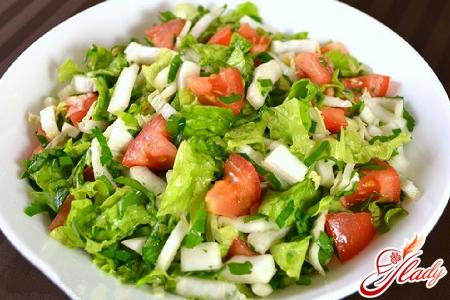 Салат из салатной капусты