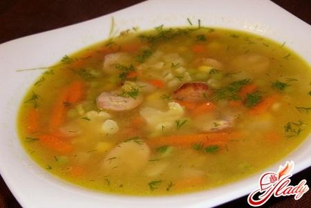 гороховый суп рецепт с мясом