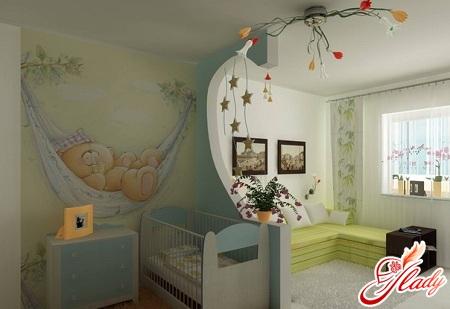интерьер однокомнатной квартиры для троих