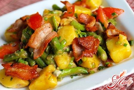 салат картофельный рецепт