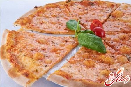 пицца с сыром рецепт