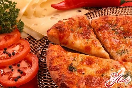 пицца маргарита рецепт приготовления
