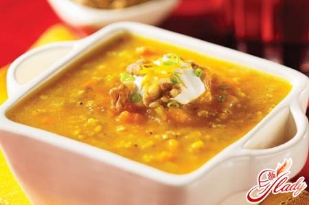 рецепт обычного горохового супа