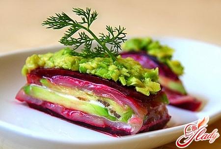салат с варёной свеклой рецепт с фото