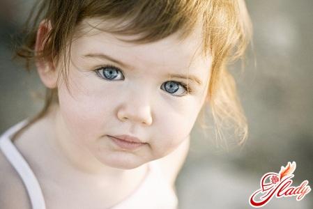 у ребенка под глазами синяки