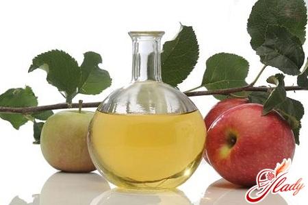 Яблочный уксус лечение печени и почек