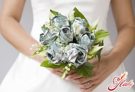 цветы из денег своими руками