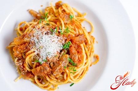как приготовить пасту для спагетти