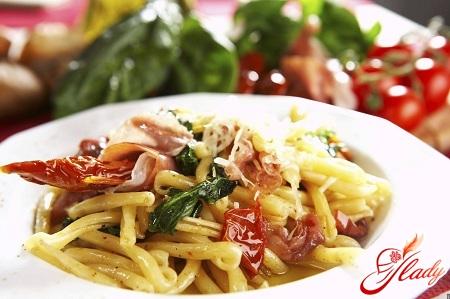 как приготовить итальянскую пасту дома