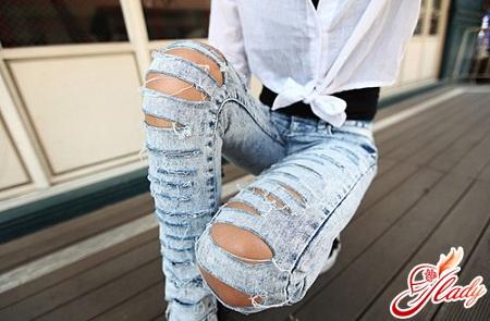 своими руками джинсы украшаем