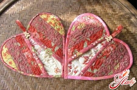 лоскутное шитье прихватки