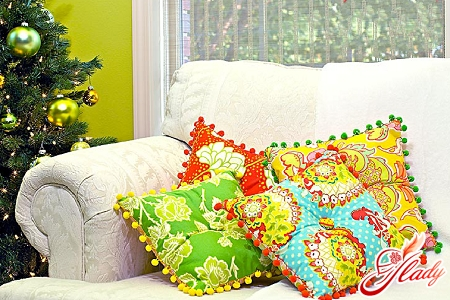 лоскутное шитье подушки