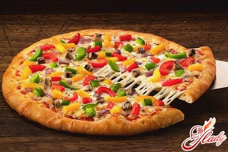 Просто и быстро: пицца на кефире