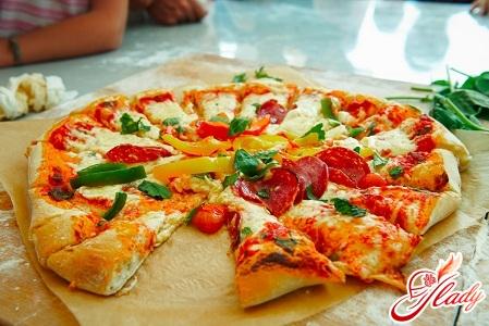 пицца с ананасами рецепт