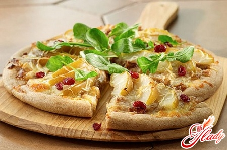 вкусная постная пицца рецепт