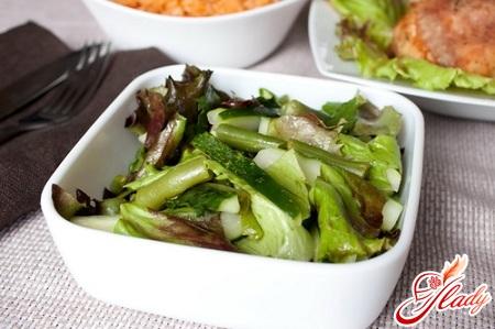 салат из свежего огурца