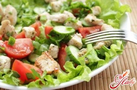 салат из курицы с китайской капустой