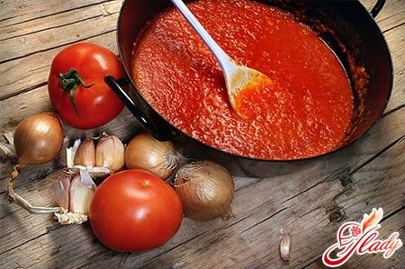 приготовление соуса для пиццы