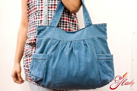 Джинсовая сумка своими руками выкройки фото 421