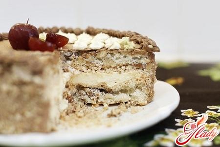 приготовление торта в домашних условиях