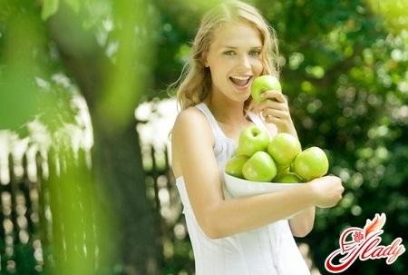 полезная яблочная диета на 3 дня