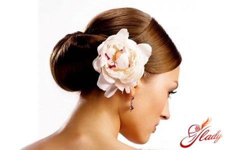 красивые цветы для волос своими руками