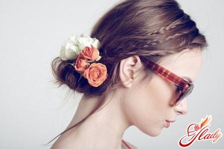 цветы для волос своими руками