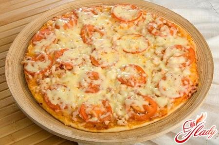 Тесто для пиццы без дрожжей для аэрогриля