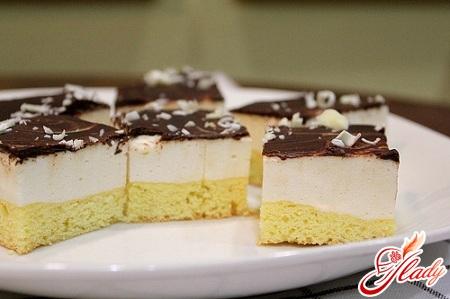 Рецепт торт птичье молоко конфеты птичье молоко