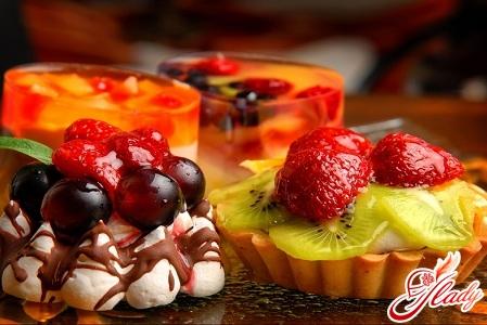 десерт желе