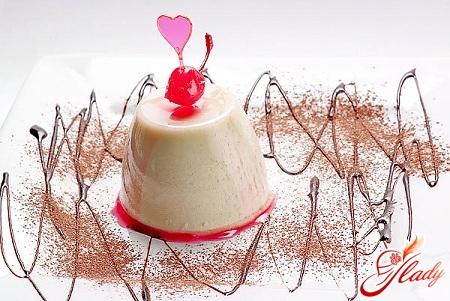 желе десерт