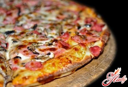 домашние рецепты пиццы