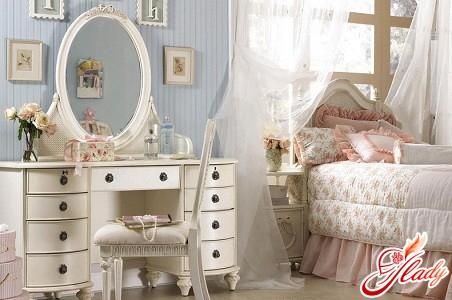интерьеры спальни для девушки
