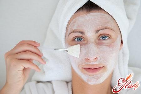 Маски для проблемной кожи лица самые
