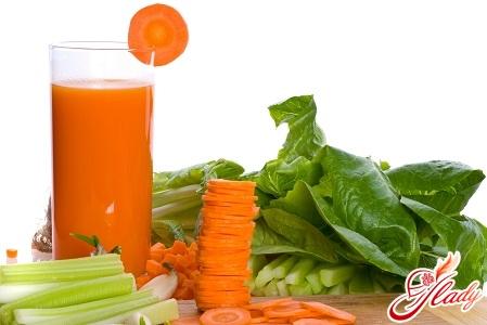 морковный сок для загара
