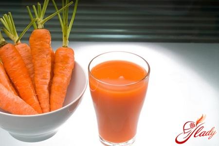 приятный морковный сок для загара