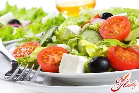 рецепты салатов с маслом