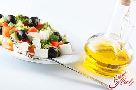 рецепт приготовления салатов с маслом