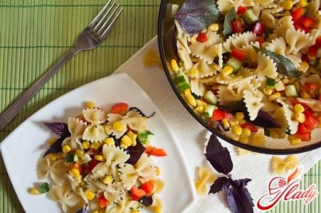 рецепты салатов с растительным маслом