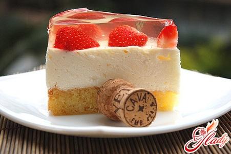 торт с желе рецепт