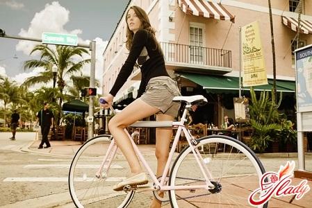 Фитнес с помощью велосипеда