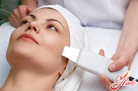 полезная аппаратная чистка лица